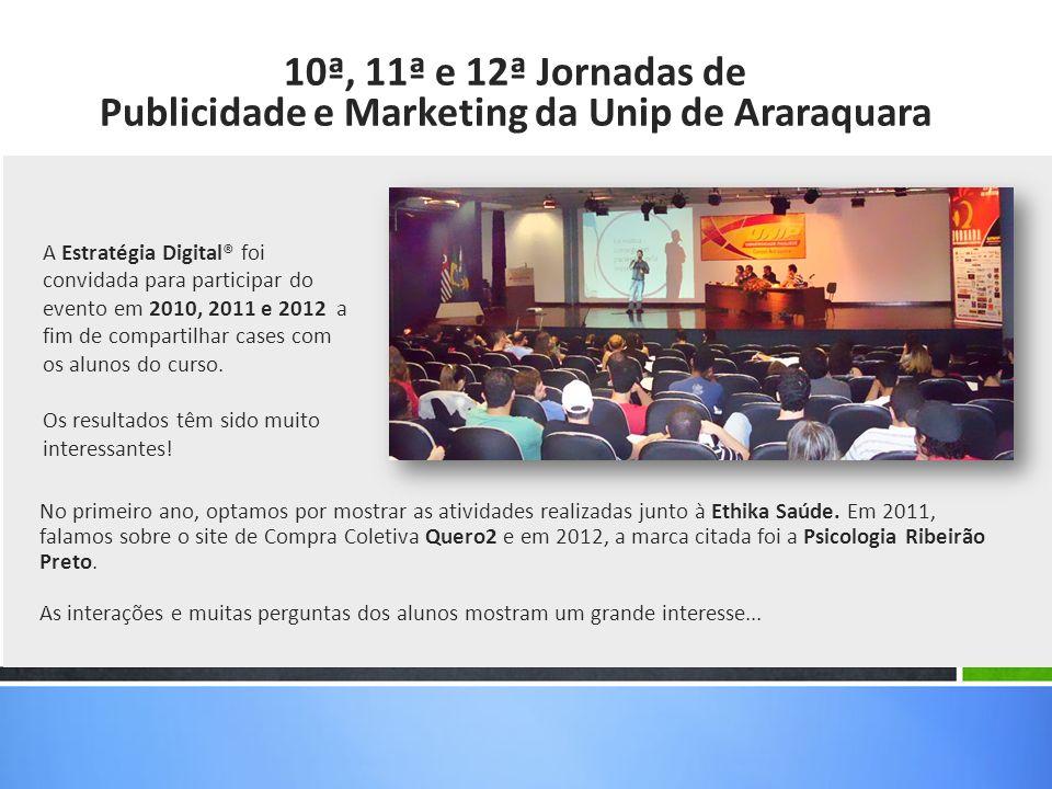 Publicidade e Marketing da Unip de Araraquara
