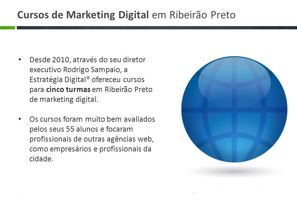 Cursos de Marketing Digital em Ribeirão Preto