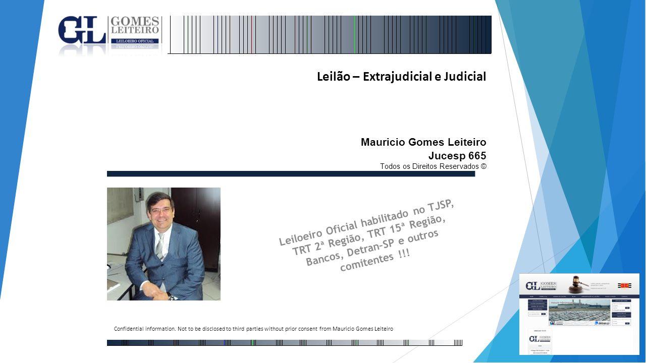 Leilão – Extrajudicial e Judicial