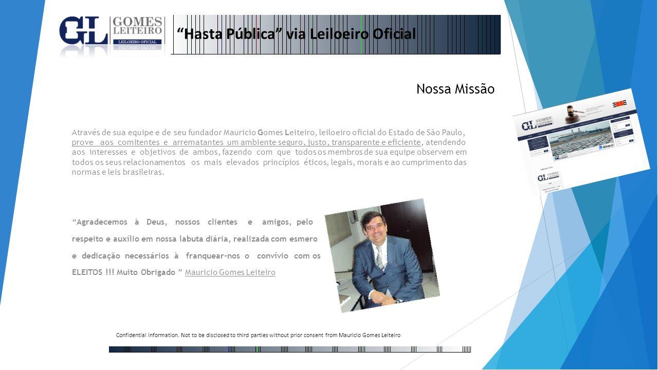 Hasta Pública via Leiloeiro Oficial