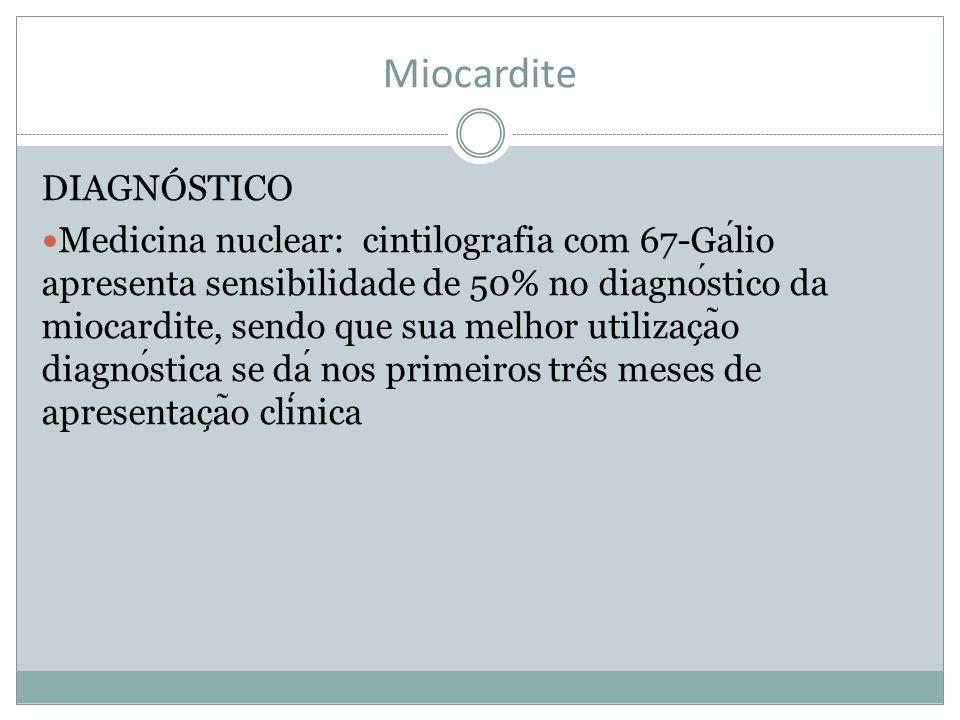 Miocardite DIAGNÓSTICO