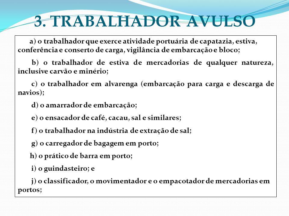 3. TRABALHADOR AVULSO