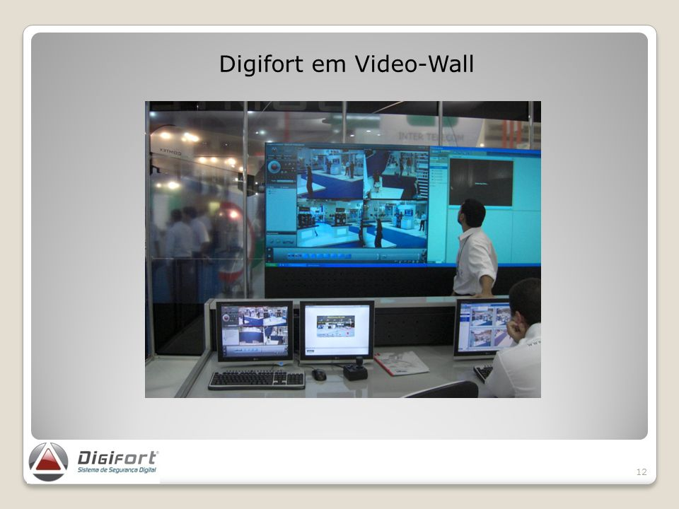 Digifort em Video-Wall
