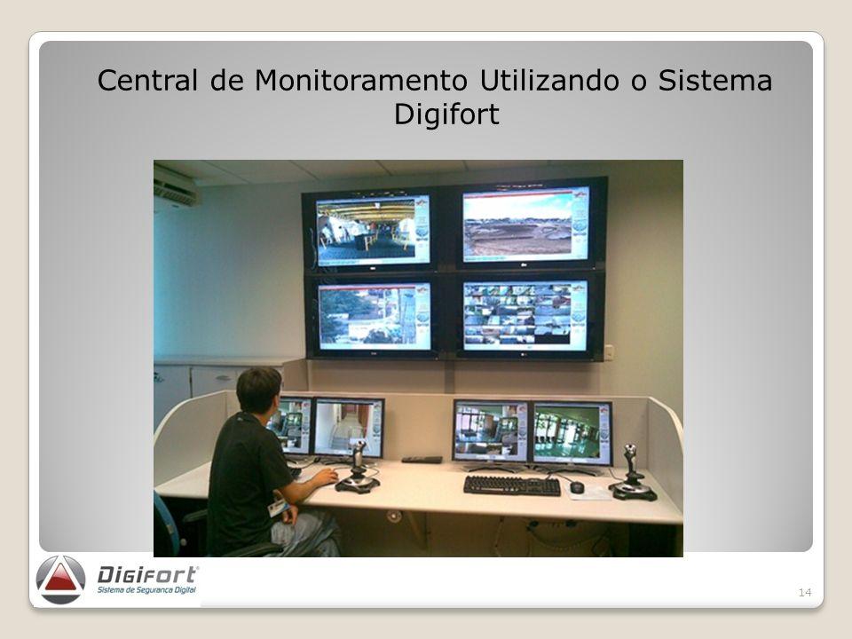 Central de Monitoramento Utilizando o Sistema Digifort