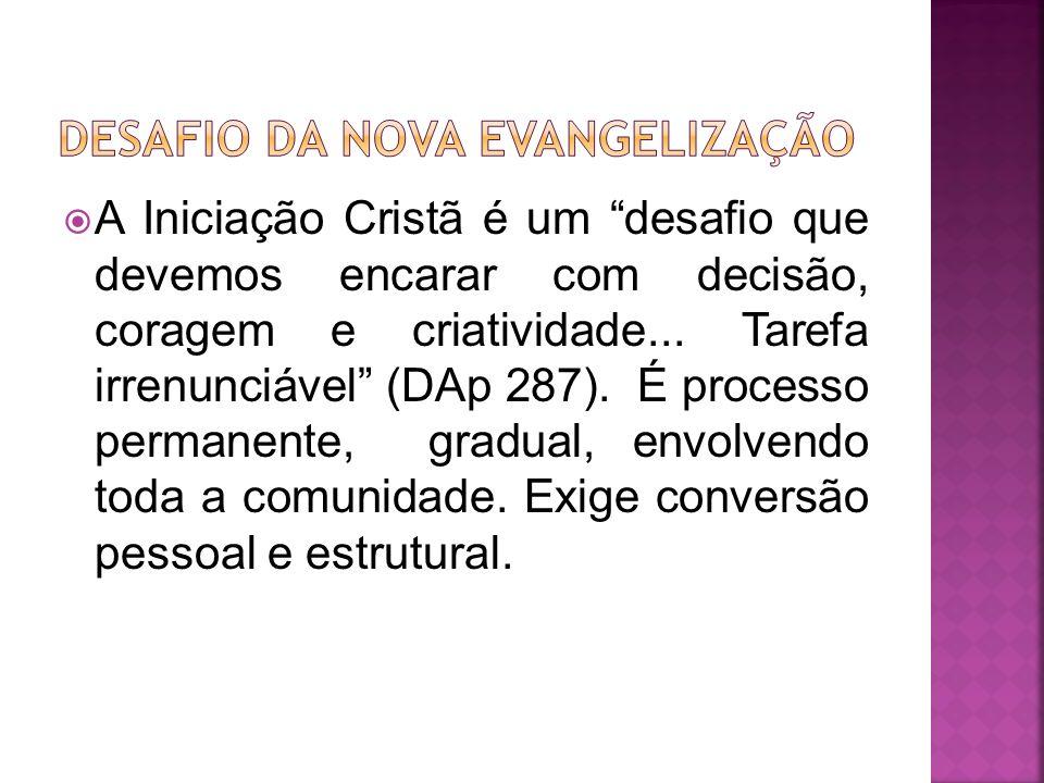 DESAFIO DA NOVA EVANGELIZAÇãO