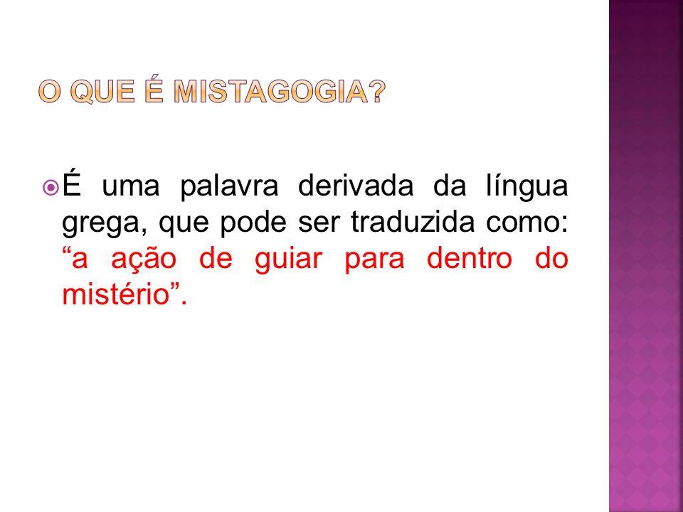 O QUE É MISTAGOGIA.