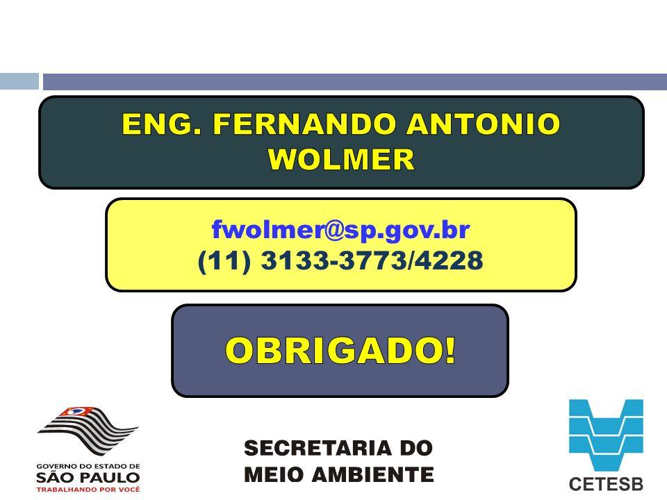 ENG. FERNANDO ANTONIO WOLMER
