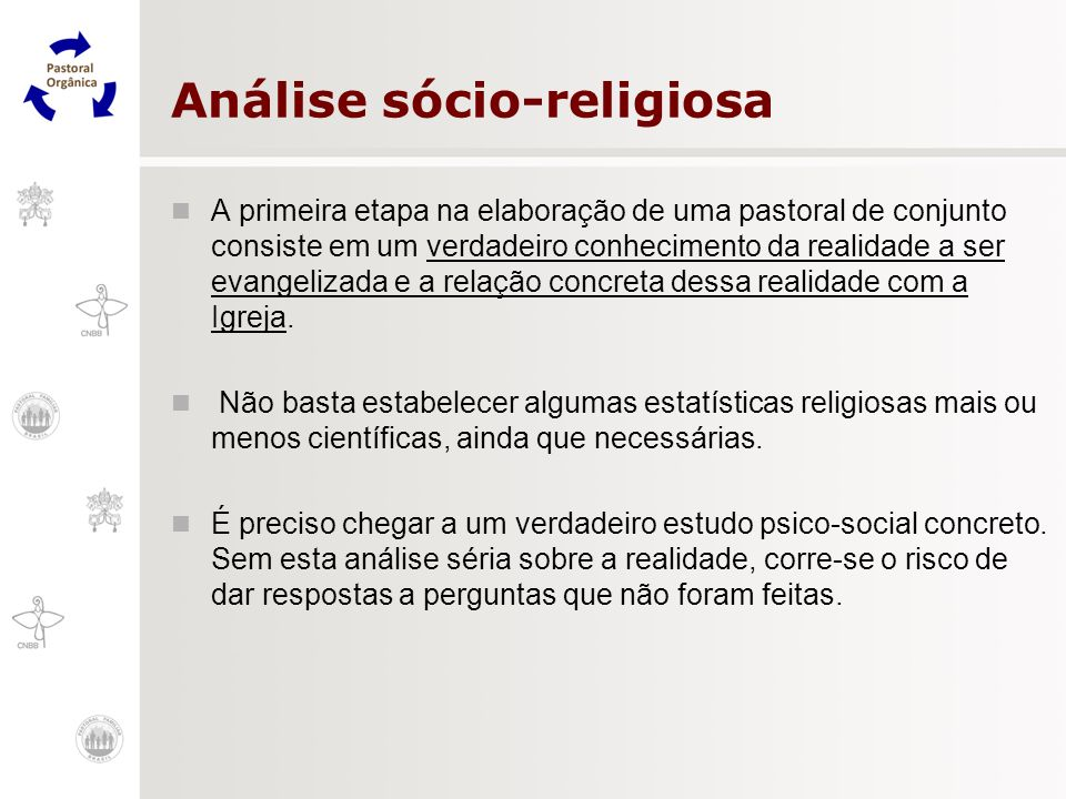 Análise sócio-religiosa