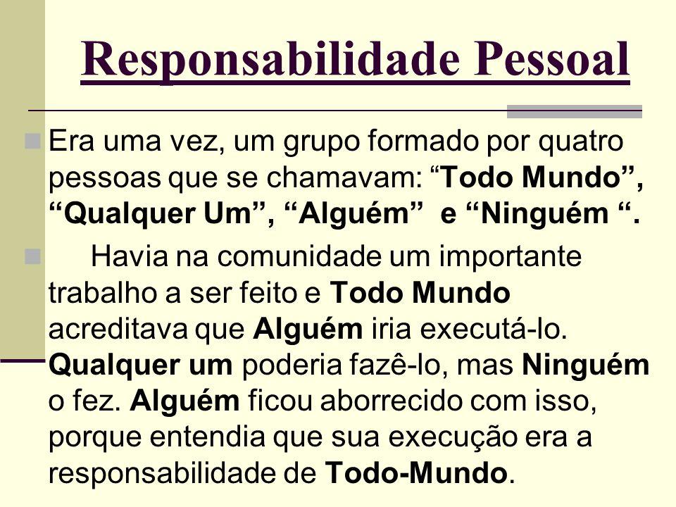 Responsabilidade Pessoal