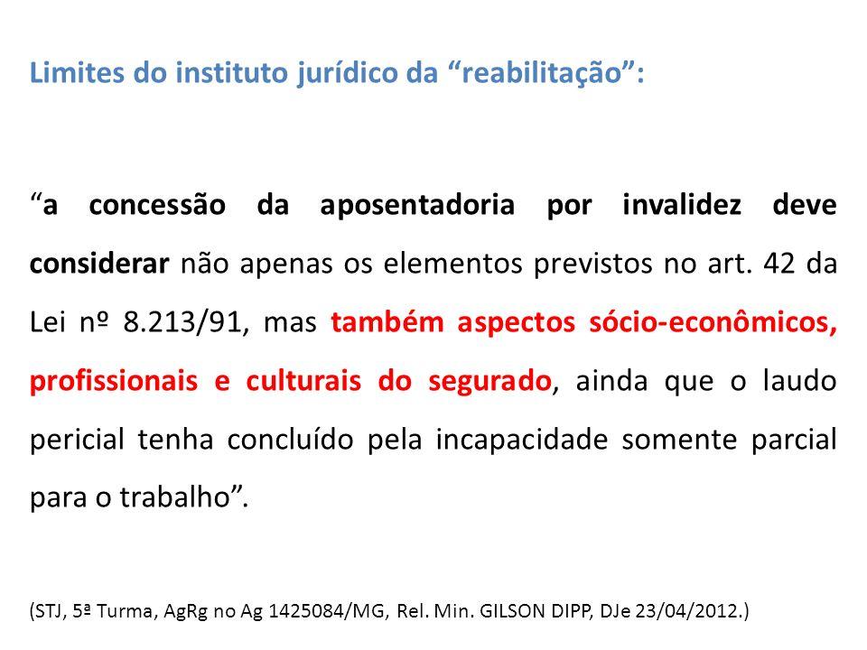 Limites do instituto jurídico da reabilitação :
