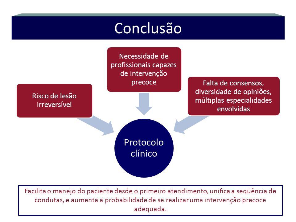 Conclusão Protocolo clínico