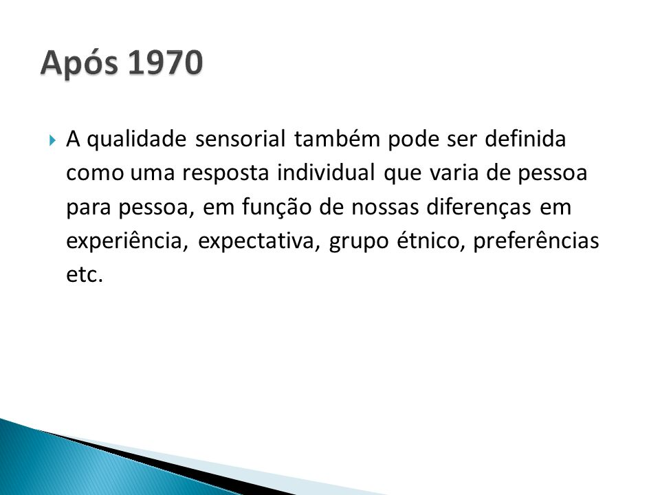 Após 1970
