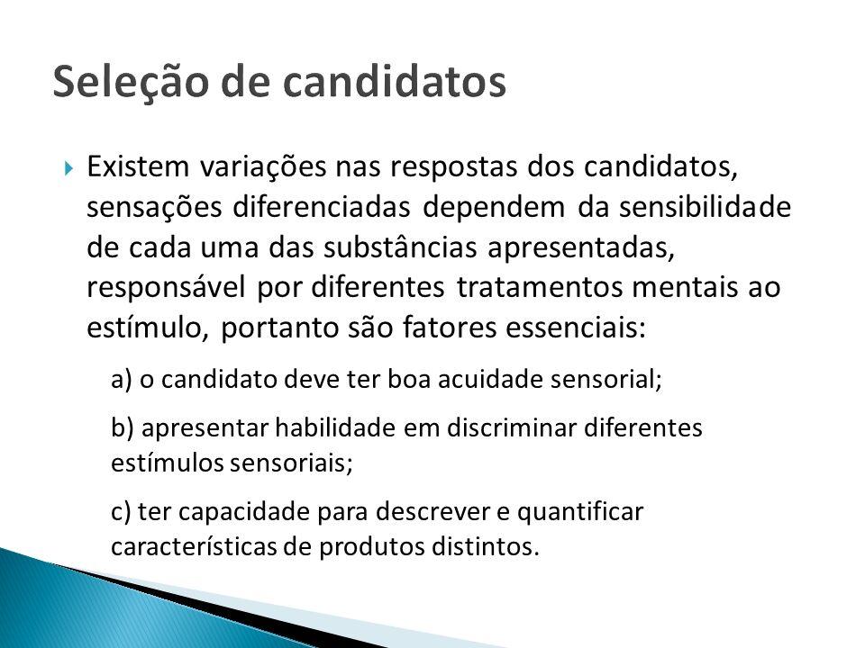 Seleção de candidatos