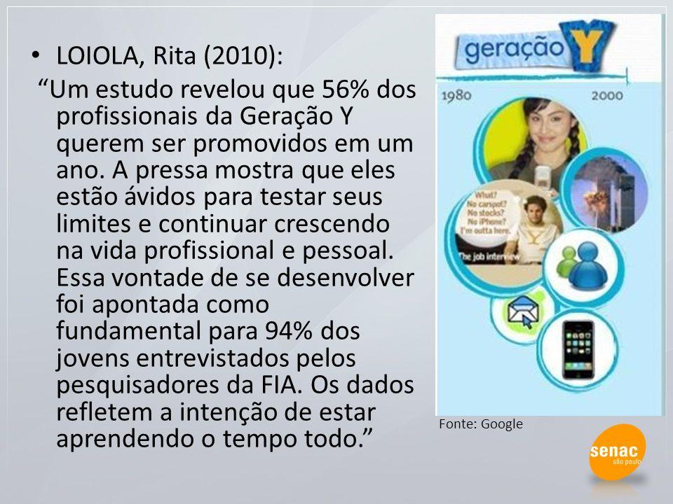 LOIOLA, Rita (2010):