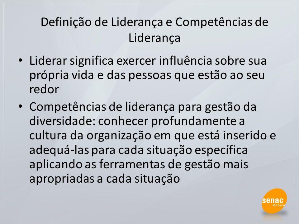 Definição de Liderança e Competências de Liderança