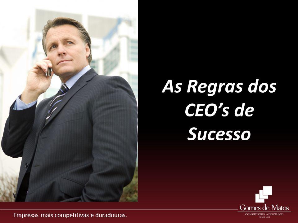 As Regras dos CEO's de Sucesso