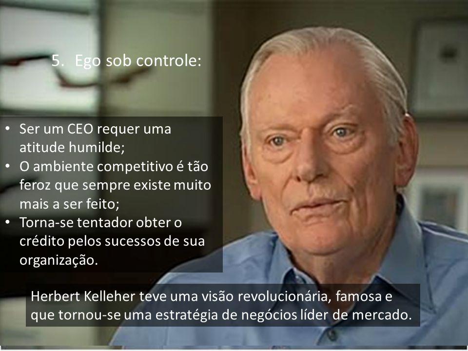 Ego sob controle: Ser um CEO requer uma atitude humilde;