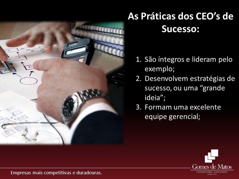 As Práticas dos CEO's de Sucesso: