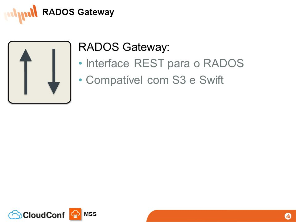 Interface REST para o RADOS Compatível com S3 e Swift