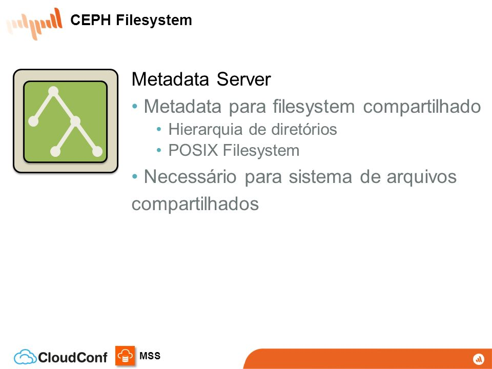 Metadata para filesystem compartilhado