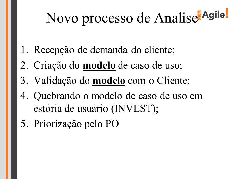 Novo processo de Analise