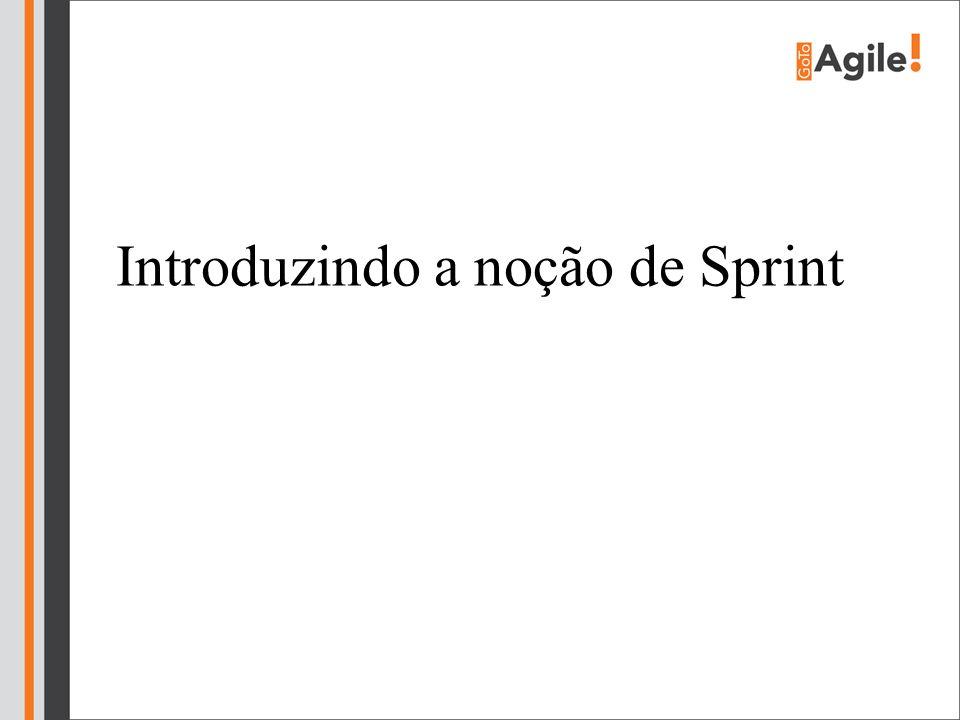 Introduzindo a noção de Sprint