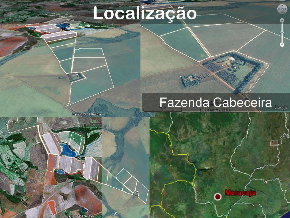 Localização Fazenda Cabeceira