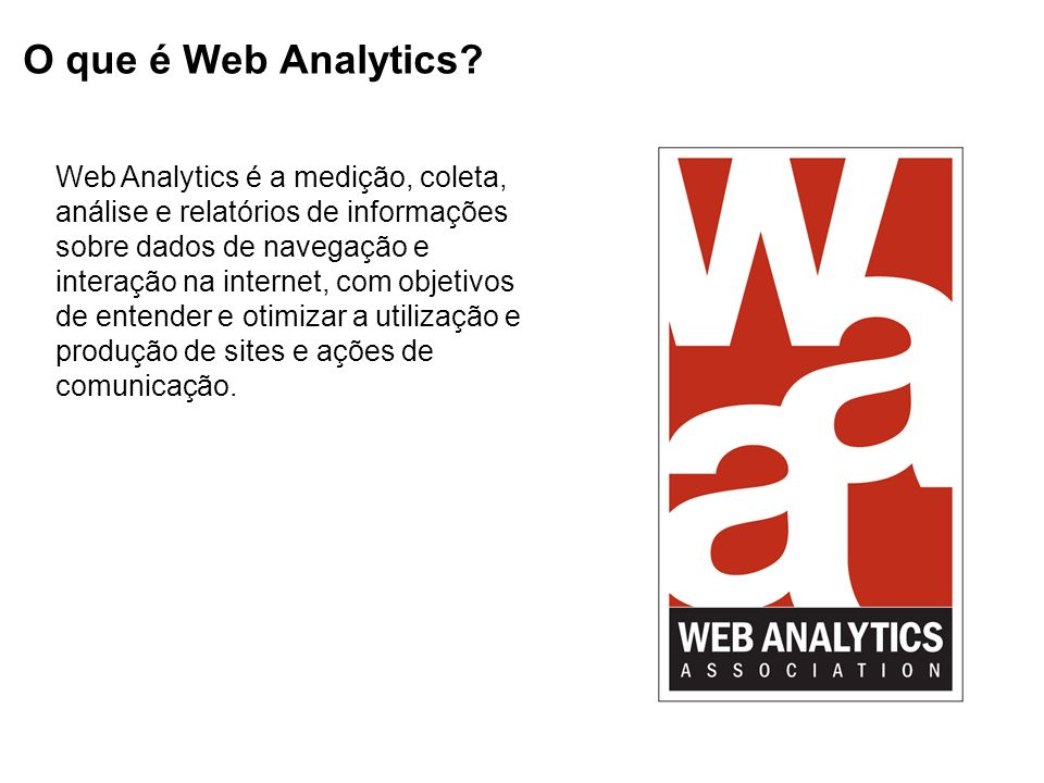 O que é Web Analytics