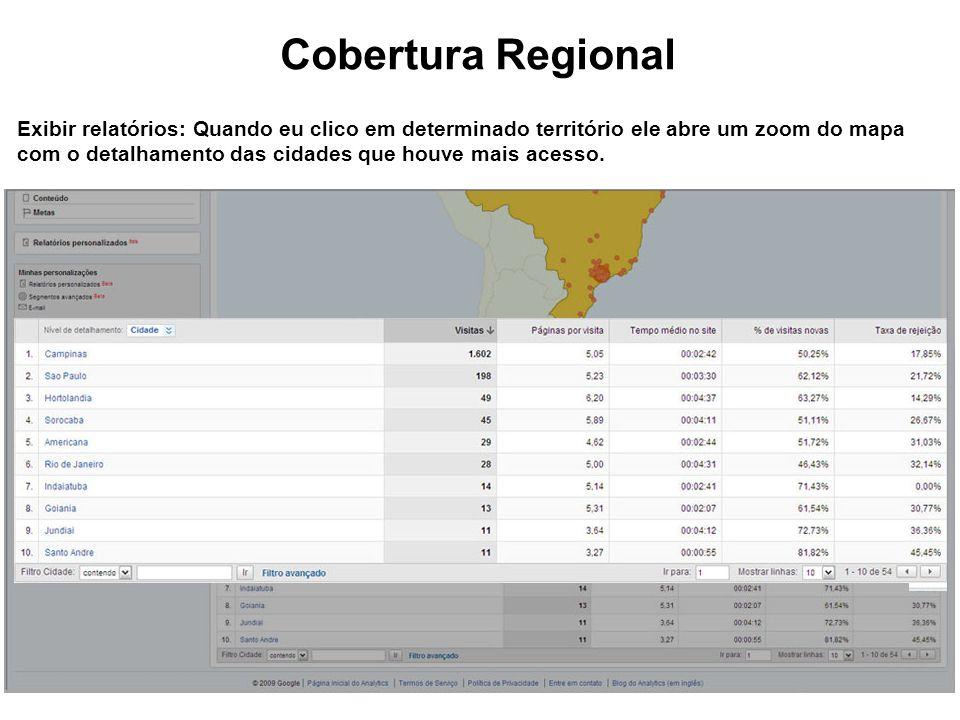 Cobertura Regional