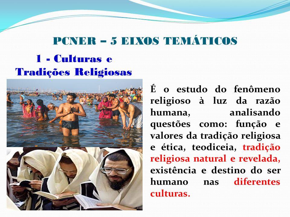 PCNER – 5 EIXOS TEMÁTICOS