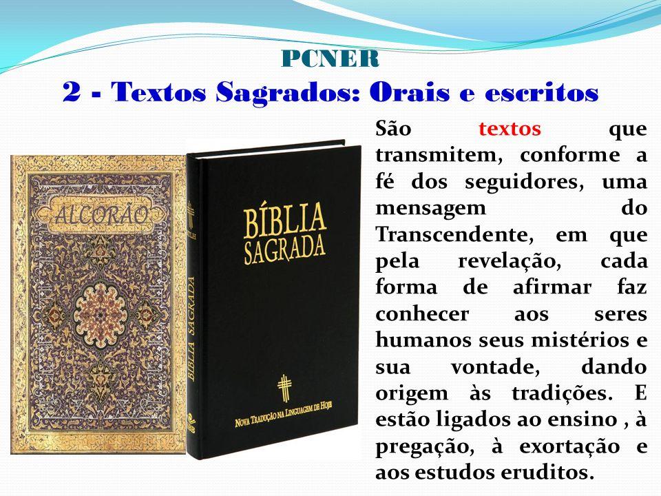 PCNER 2 - Textos Sagrados: Orais e escritos
