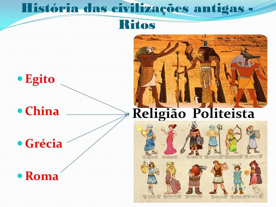 História das civilizações antigas - Ritos