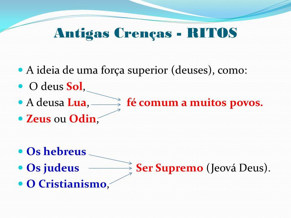 Antigas Crenças - RITOS