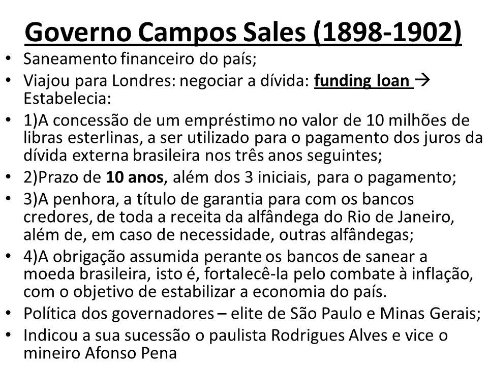 Governo Campos Sales (1898-1902)