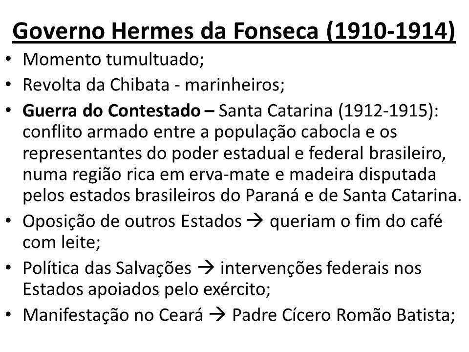 Governo Hermes da Fonseca (1910-1914)
