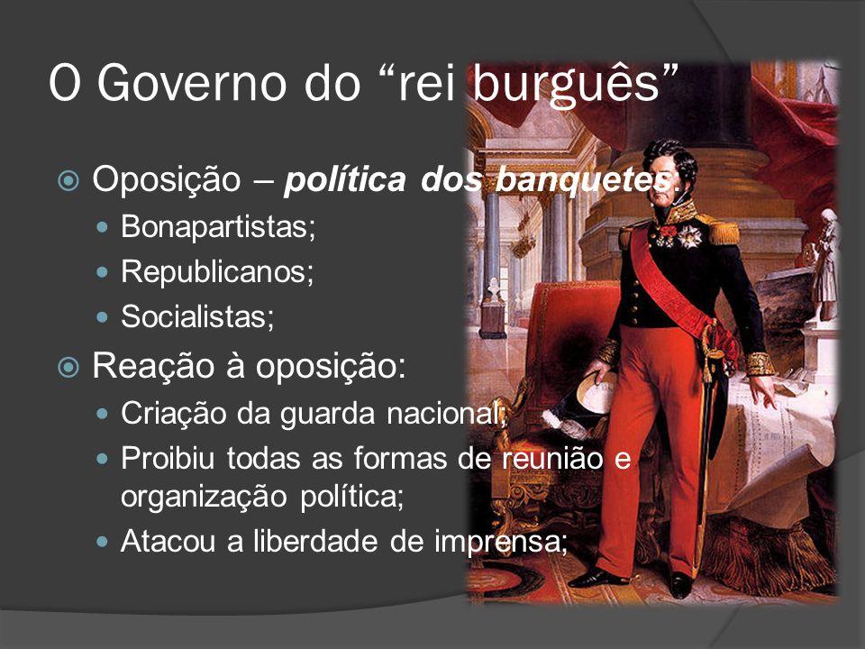 O Governo do rei burguês