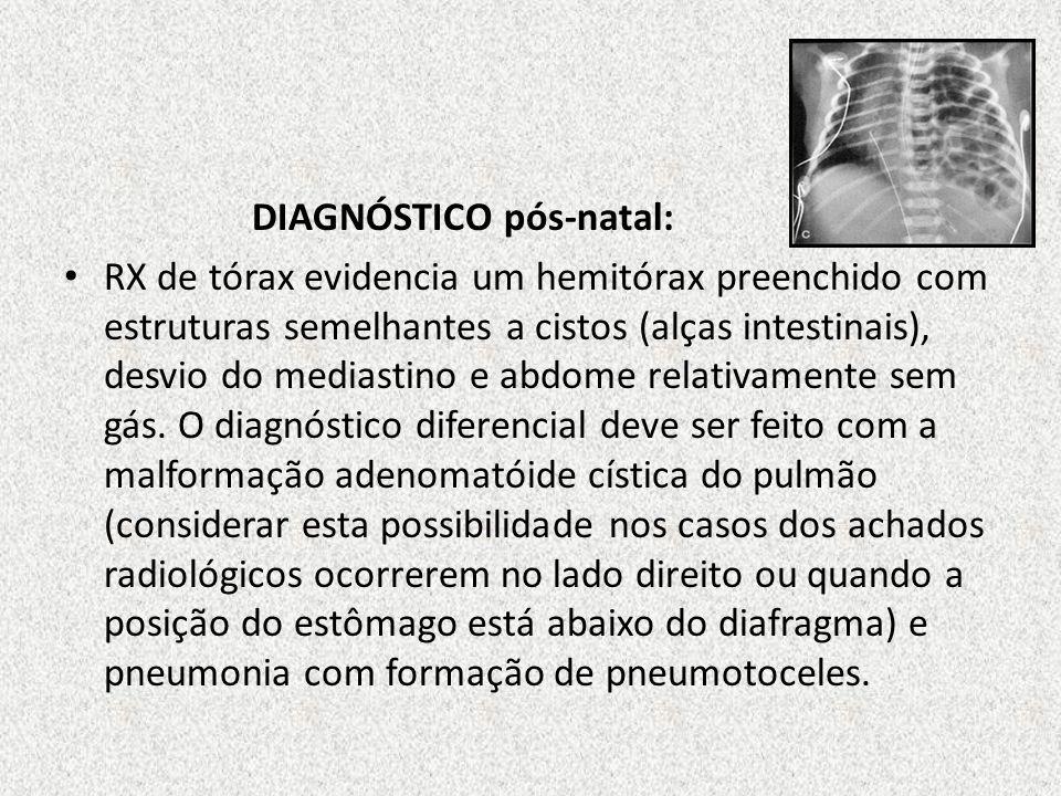 DIAGNÓSTICO pós-natal: