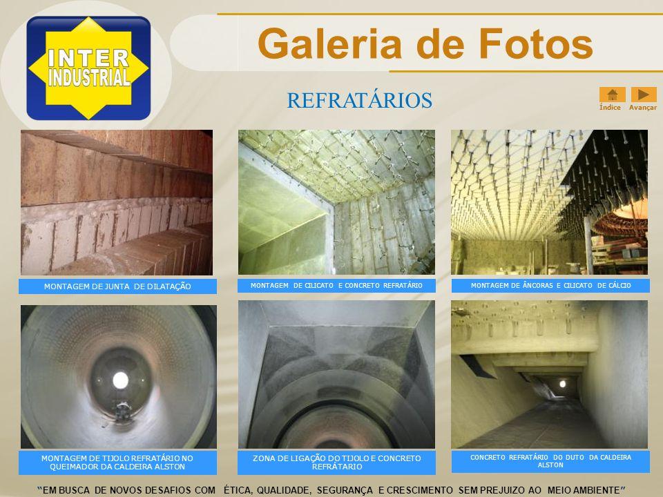 Galeria de Fotos REFRATÁRIOS