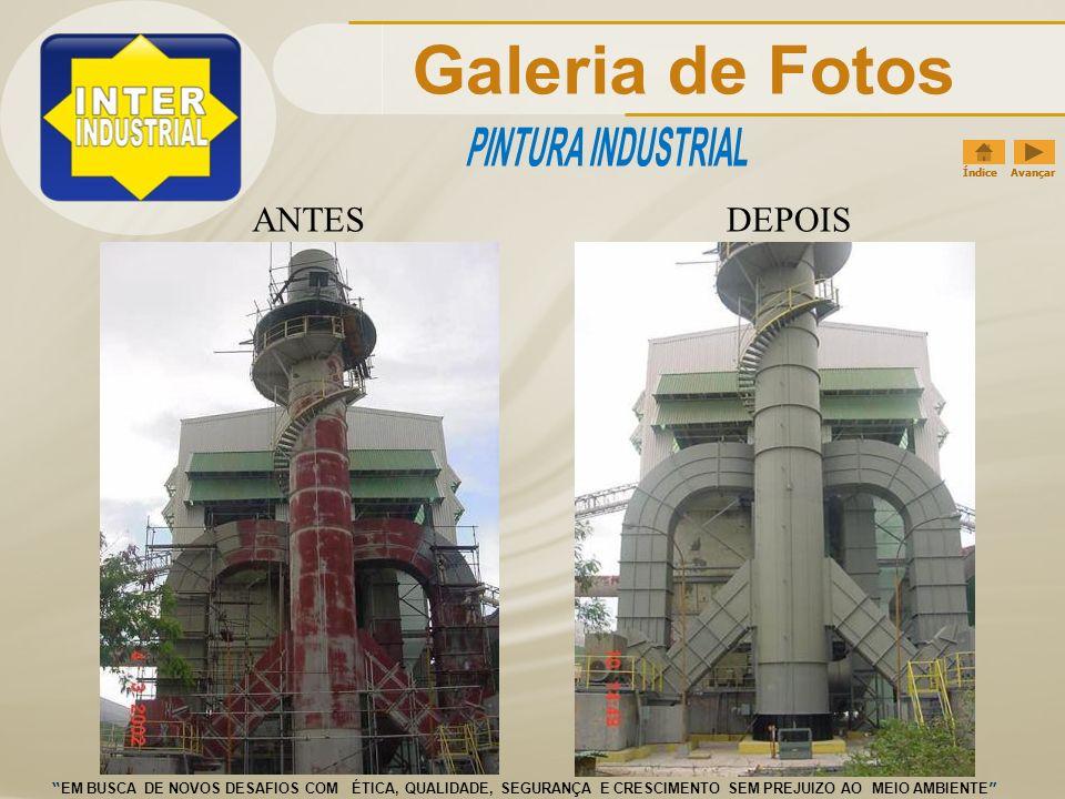 Galeria de Fotos PINTURA INDUSTRIAL