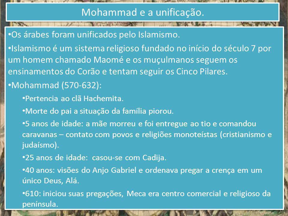 Mohammad e a unificação.