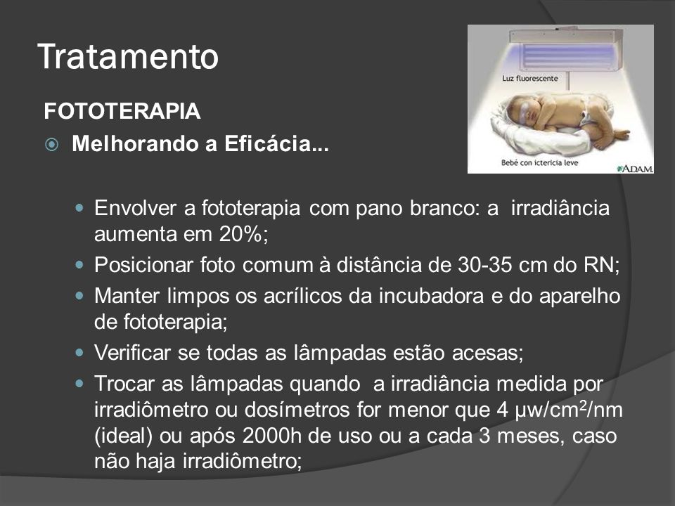 Tratamento FOTOTERAPIA Melhorando a Eficácia...