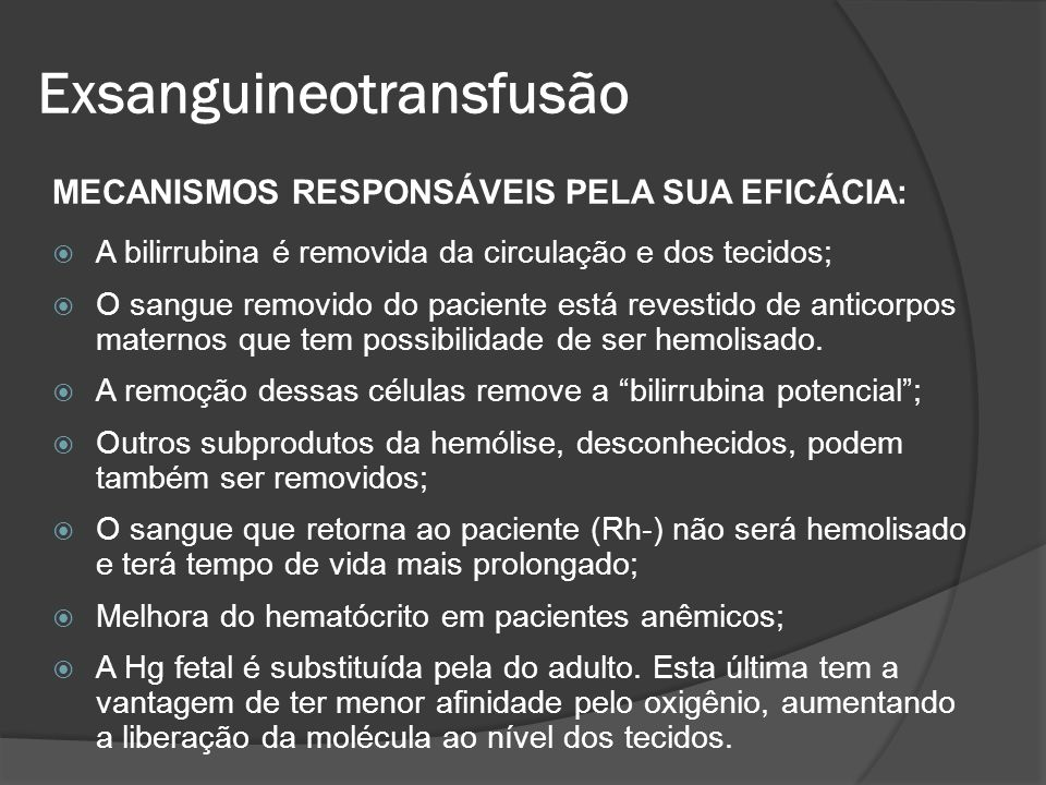 Exsanguineotransfusão
