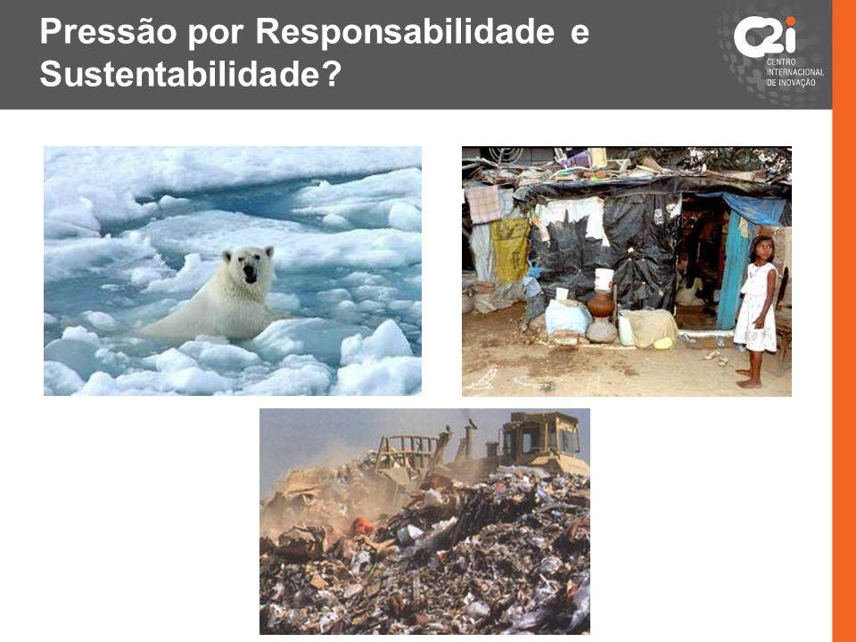 Pressão por Responsabilidade e Sustentabilidade