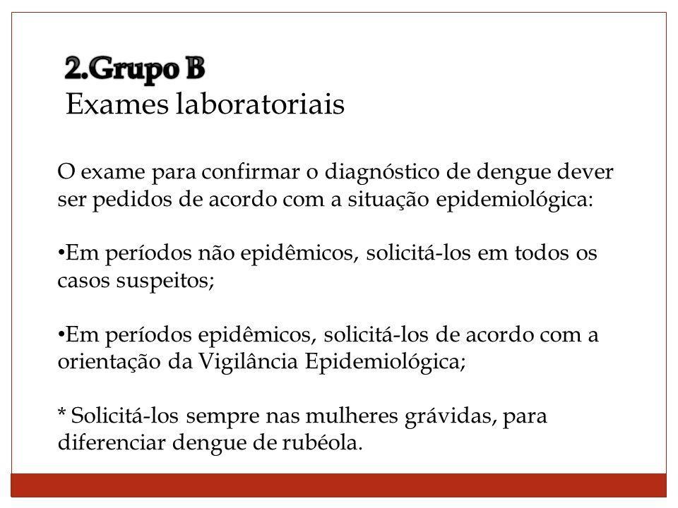 2.Grupo B Exames laboratoriais