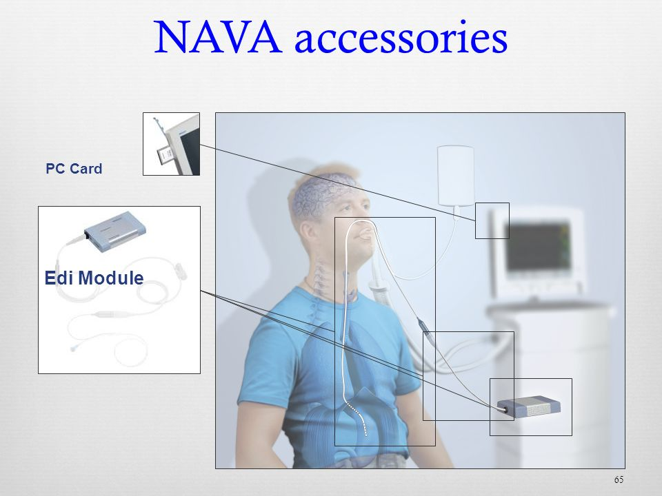 NAVA accessories Edi Module PC Card Edi Cable Edi Catheter 65