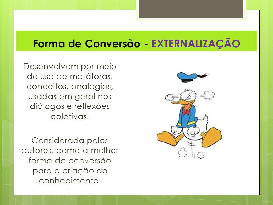 Forma de Conversão - EXTERNALIZAÇÃO