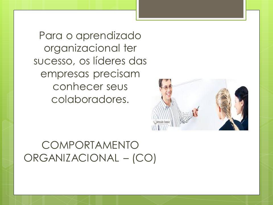 Para o aprendizado organizacional ter sucesso, os líderes das empresas precisam conhecer seus colaboradores.