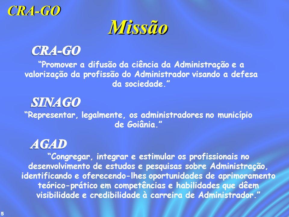 Representar, legalmente, os administradores no município de Goiânia.