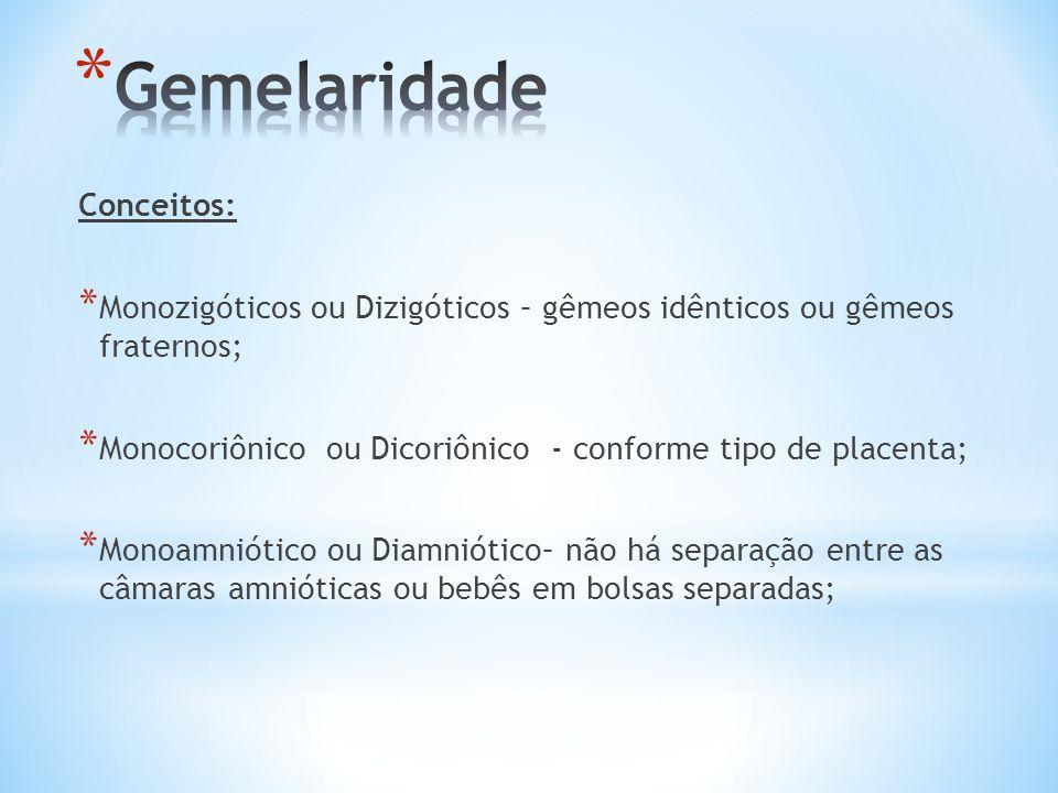 Gemelaridade Conceitos:
