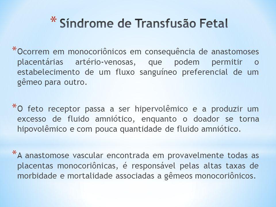 Síndrome de Transfusão Fetal